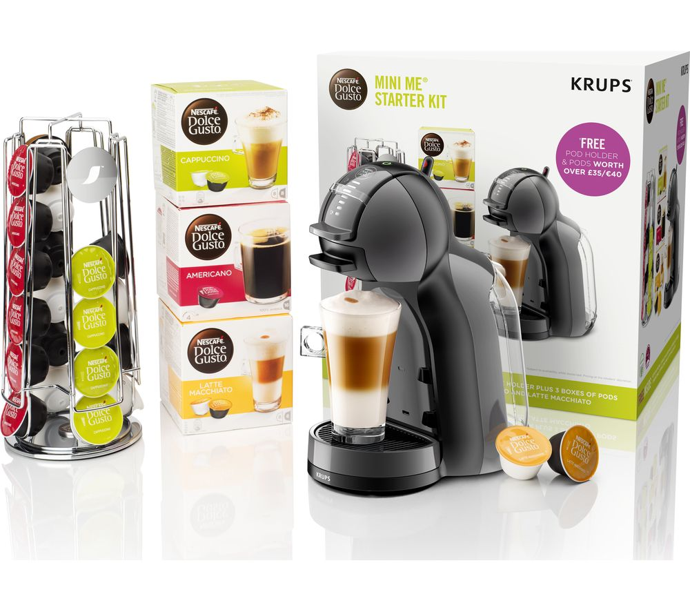 krups kp128bundle dolce gusto mini me coffee machine starter kit sherwoods