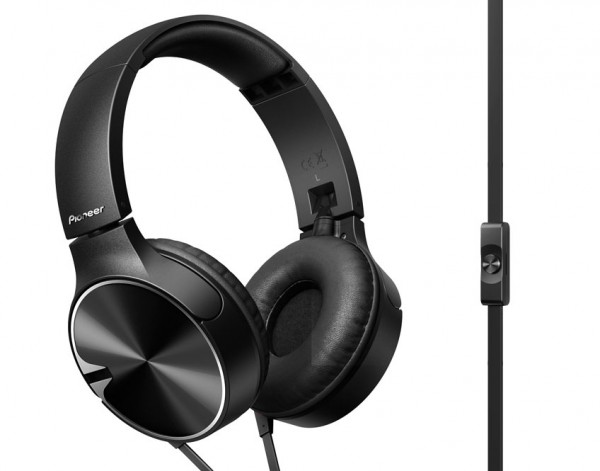 Pioneer SE-MJ722T-K Extreme Bass Headphones | Black