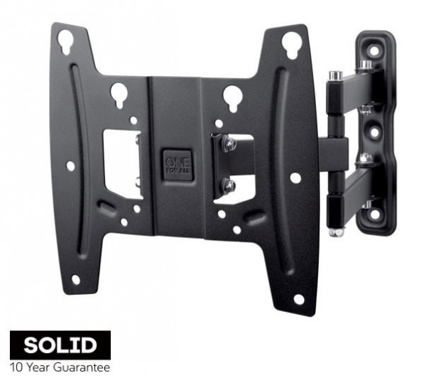 One-For-All WM4251 Solid Wall Mount TURN 180 19-42 Inch TV Wall Bracket