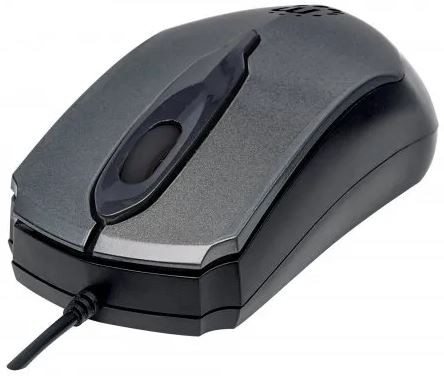 Manhattan 179423 'Edge' Optical USB Mouse | Grey