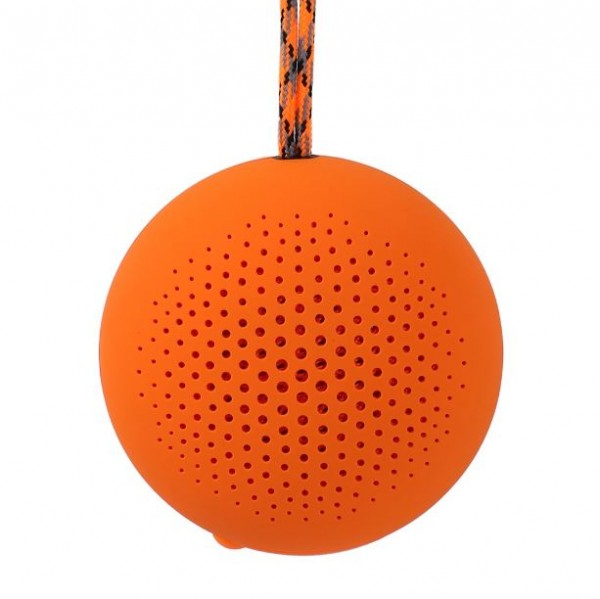 Boompods 'rokpod' Bluetooth Outdoor Portable Speaker | Orange