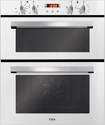 CDA DC740WH Double Oven Electric