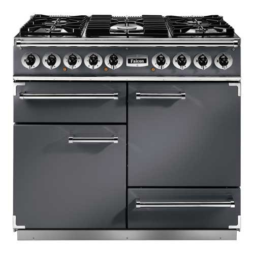 Falcon Continental 1092 DF Slate Nickel 102290 Dual Fuel Range Cooker