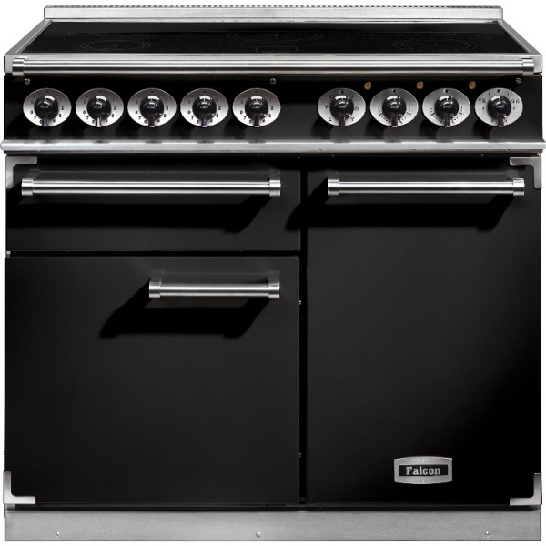 Falcon 1000 DX IND Black Chrome 100100 Electric Range Cooker