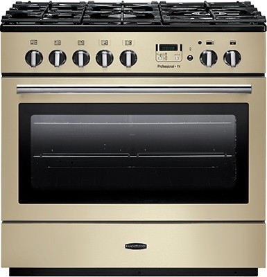 Rangemaster Professional Plus FX 90DF Cream 91120 Dual Fuel Range Cooker