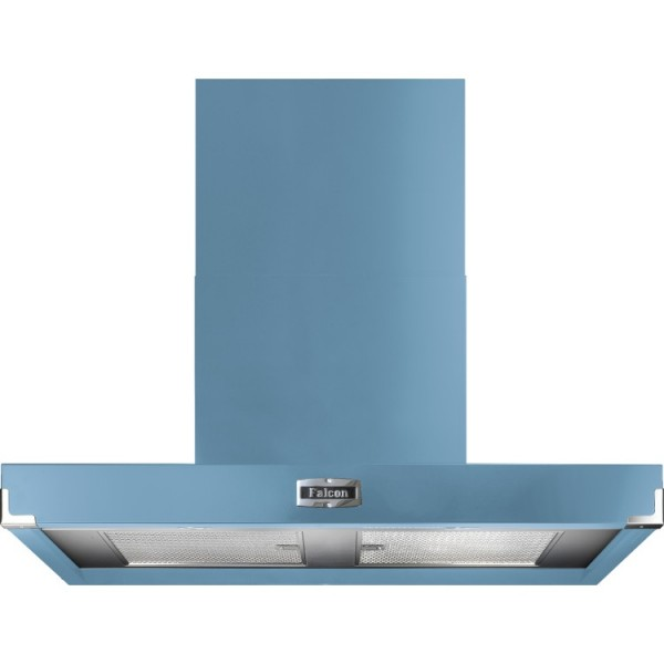 Falcon 900 Contemporary China Blue Nickel 90910 Cooker Hood
