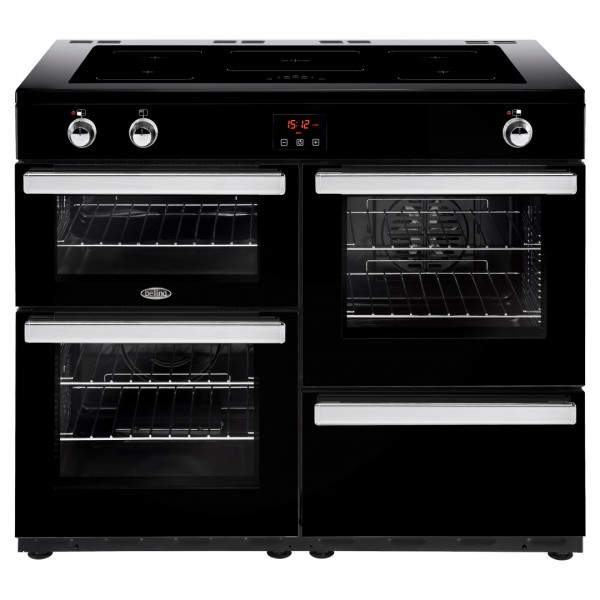 Belling Appliances Ltd Cookcentre 110Ei Blk Electric Range Cooker