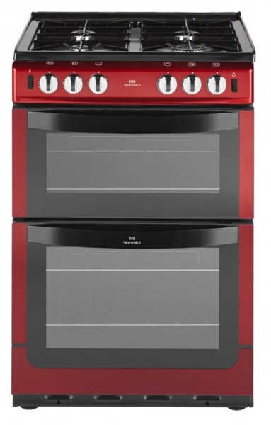 New World 551GTC Met Red Gas Cooker