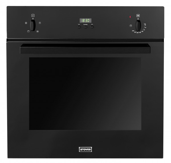 Stoves SEB600FPS Blk Single Oven Electric