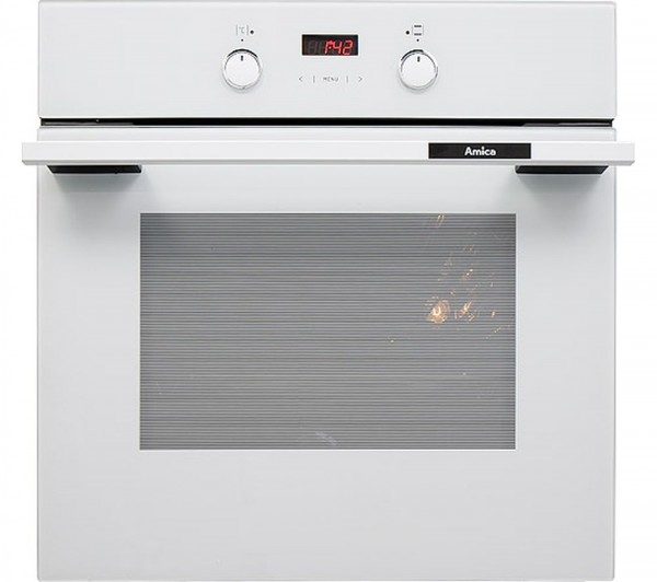 Amica 1053.3TsW Single Oven Electric