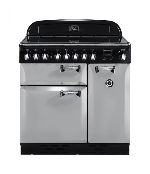 Rangemaster Elan 90IND Royal Pearl 100700 Electric Range Cooker
