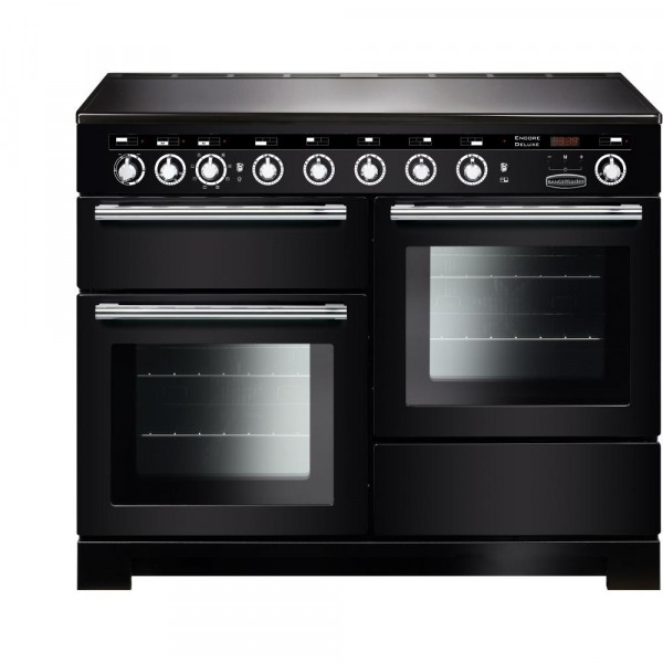Rangemaster Encore Deluxe 110IND Black 117380 Electric Range Cooker
