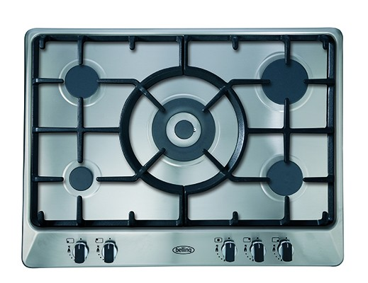 Belling Appliances Ltd GHU70GC MK2 SS Gas Hob