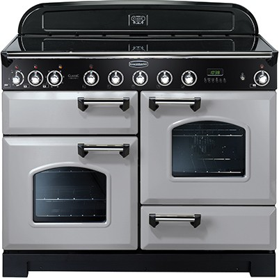 Rangemaster Classic Deluxe 110IND Royal Pearl 100670 Electric Range Cooker