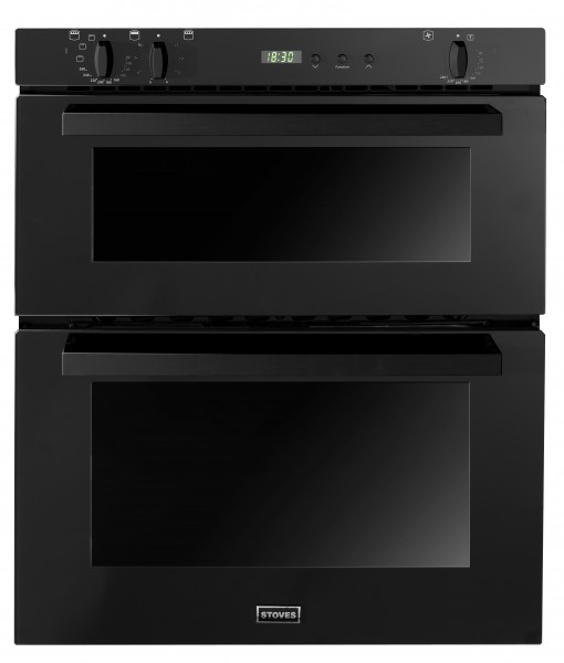 Stoves SEB700FPS Blk Double Oven Electric