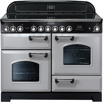 Rangemaster Classic Deluxe 110CER Royal Pearl 100660 Electric Range Cooker