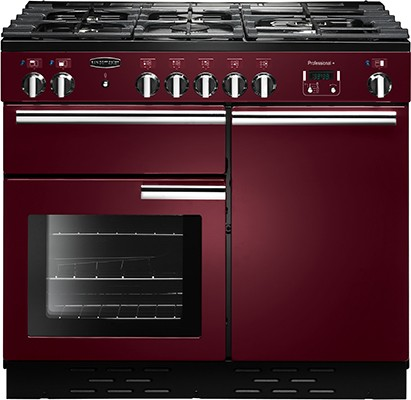 Rangemaster Professional Plus 100G Cranberry 111800 Gas Range Cooker