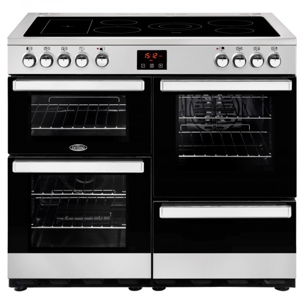 Belling Cookcentre 100E SS Electric Range Cooker
