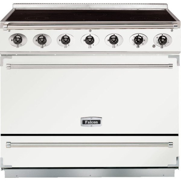 Falcon 900S IND White Nickel 90060 Electric Range Cooker