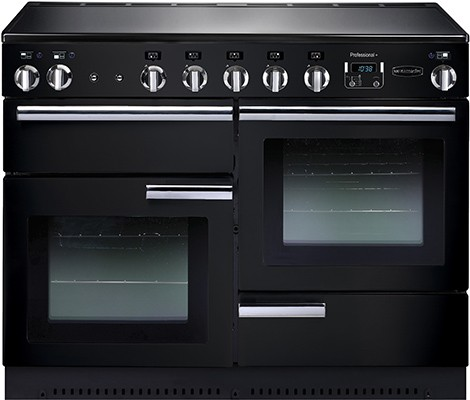 Rangemaster Professional Plus 110IND Black 91780 Electric Range Cooker