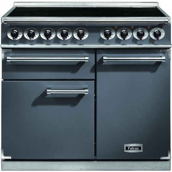 Falcon 1000 DX IND Slate Nickel 102310 Electric Range Cooker
