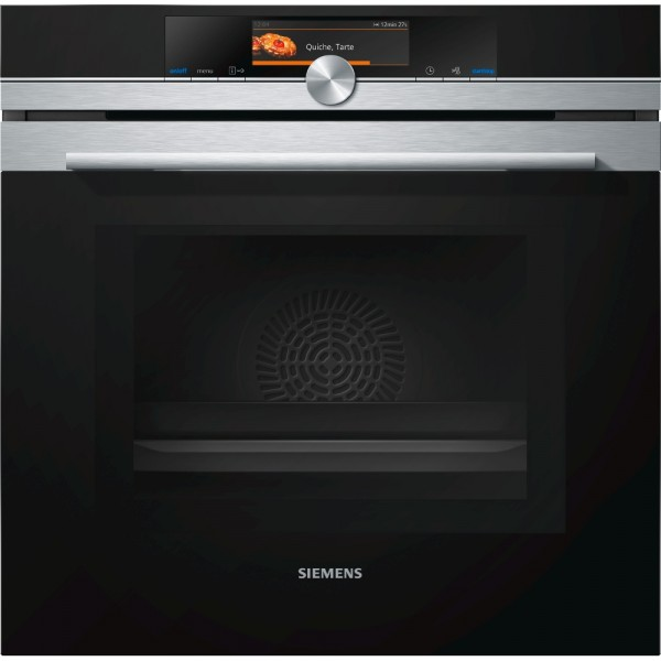 Siemens HM678G4S6B Single Oven Electric