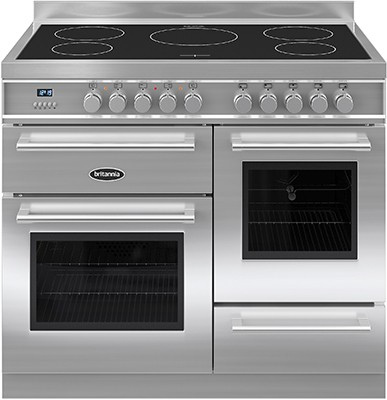 Britannia RC-10XGI-QL-S Electric Range Cooker