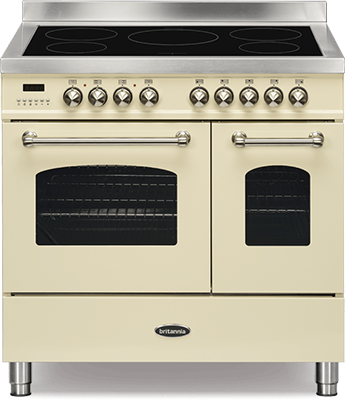 Britannia RC-9TI-FL-CR-MK2 Electric Range Cooker