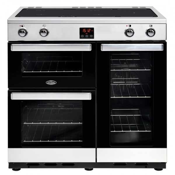 Belling Cookcentre 90Ei SS Electric Range Cooker