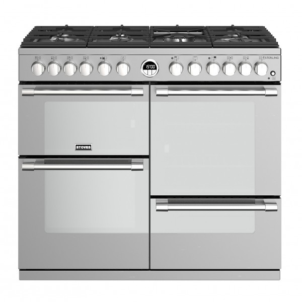 Stoves Sterling S1000DF SS Electric Range Cooker