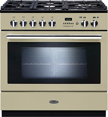Rangemaster Professional Plus FXP 90DF Cream 92740 Dual Fuel Range Cooker