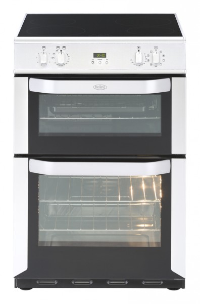 Belling Appliances Ltd FSE60MFTI Whi Electric Cooker