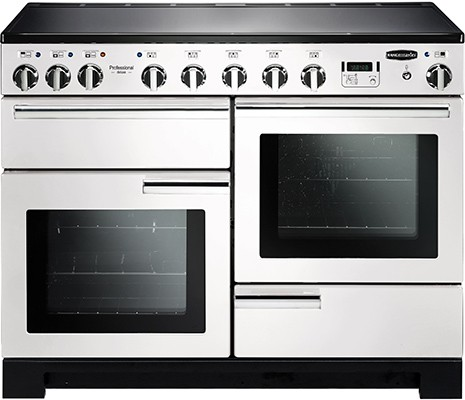 Rangemaster Professional Deluxe 110IND White 101580 Electric Range Cooker