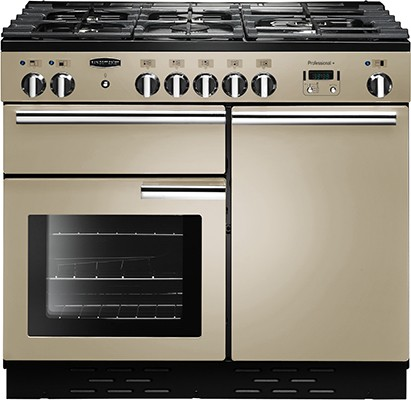 Rangemaster Professional Plus 100DF Cream 92610 Dual Fuel Range Cooker