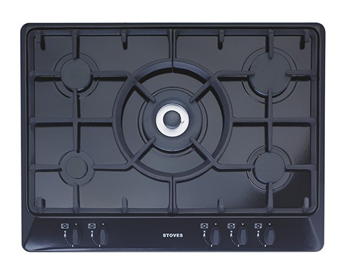 Stoves SGH700C Blk Gas Hob