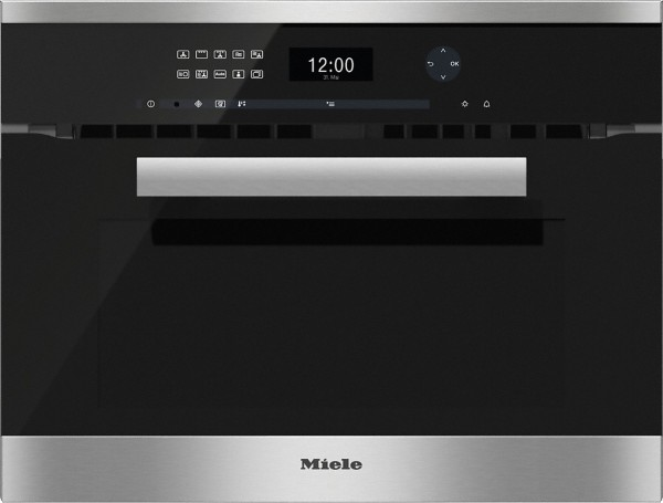 Miele H6401BM clst PureLine Integrated Combination Microwave