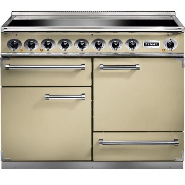 Falcon 1092 DX IND Cream Chrome 81880 Electric Range Cooker