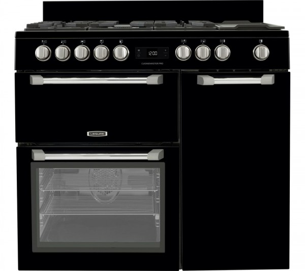 Leisure Cuisinemaster Pro 100 DF Black PR100F530K Dual Fuel Range Cooker
