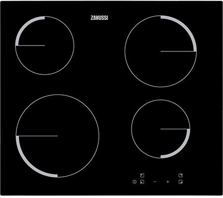Zanussi ZEV6240FBV Agency Model Electric Hob