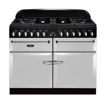 AGA Masterchef 110 DF Pearl Ashes Dual Fuel Range Cooker