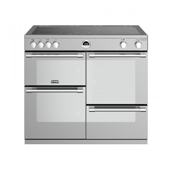 Stoves Sterling Deluxe S1000E i SS Electric Range Cooker