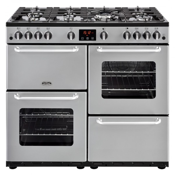 Belling Appliances Ltd Sandringham 100G Sil Gas Range Cooker
