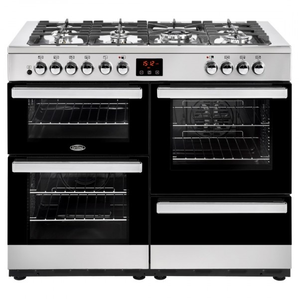 Belling Cookcentre 110Dft SS Dual Fuel Range Cooker