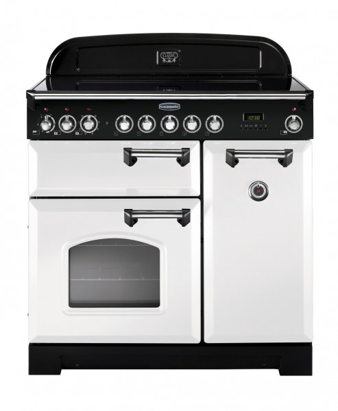 Rangemaster Professional Deluxe 90IND White 98740 Electric Range Cooker