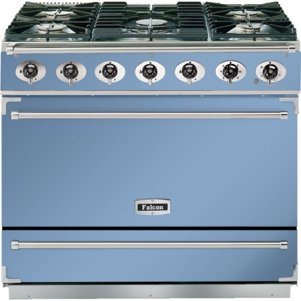 Falcon 900S DF China Blue Nickel 87440 Dual Fuel Range Cooker