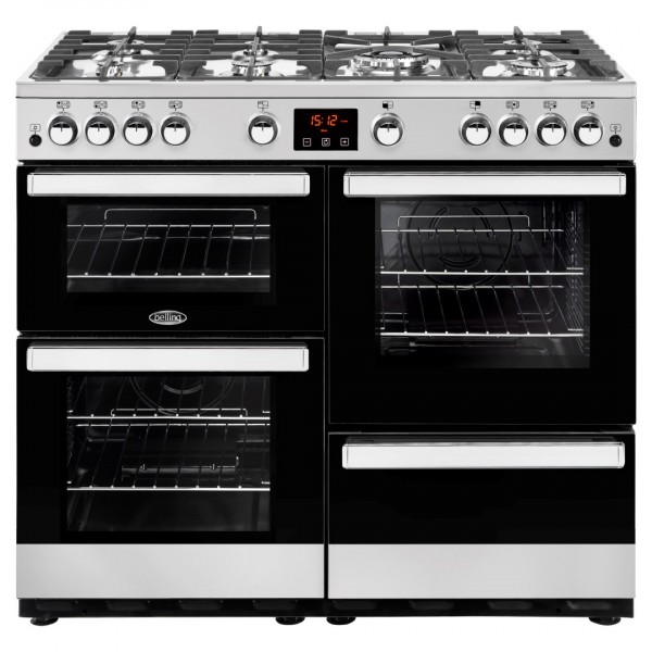Belling Appliances Ltd Cookcentre 100G SS Gas Range Cooker