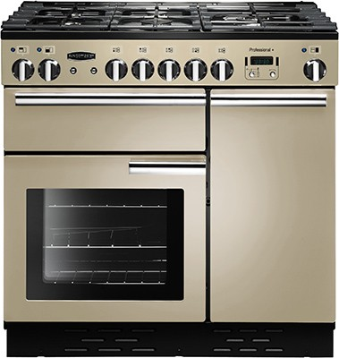 Rangemaster Professional Plus 90DF Cream 91620 Dual Fuel Range Cooker