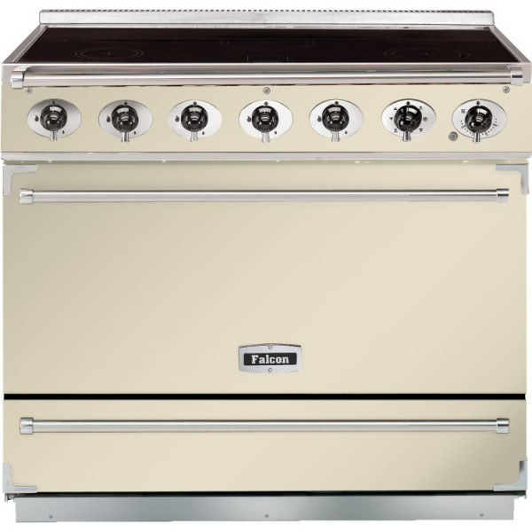 Falcon 900S IND Cream Chrome 90020 Electric Range Cooker