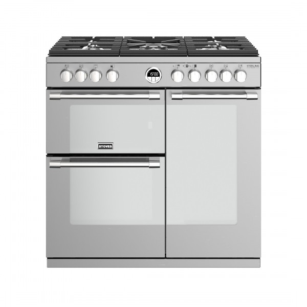 Stoves Sterling Deluxe S900G SS Gas Range Cooker