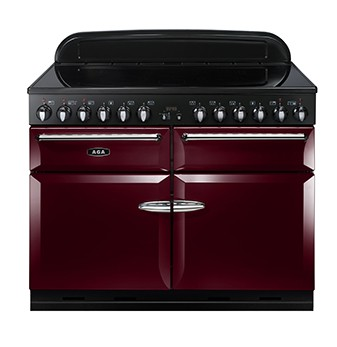 AGA Masterchef 110 IND Cranberry Electric Range Cooker